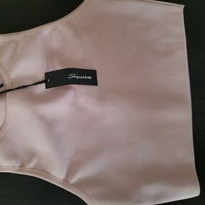 Pink Scuba Crop Top